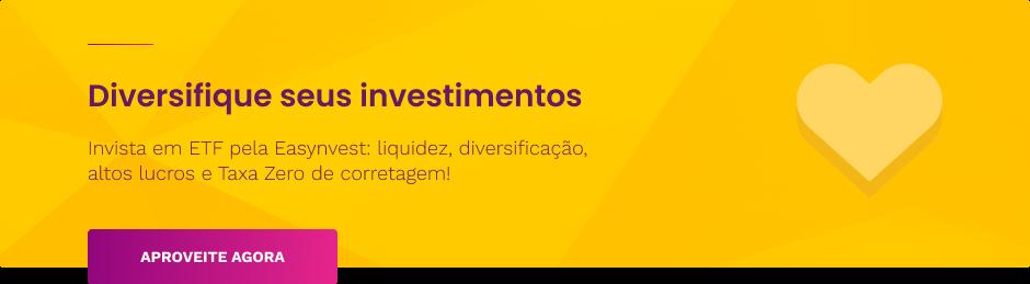 Invista em ETF pela Easynvest