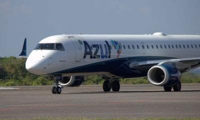 Demanda por voos internacionais da Azul cai 96,6% em um ano