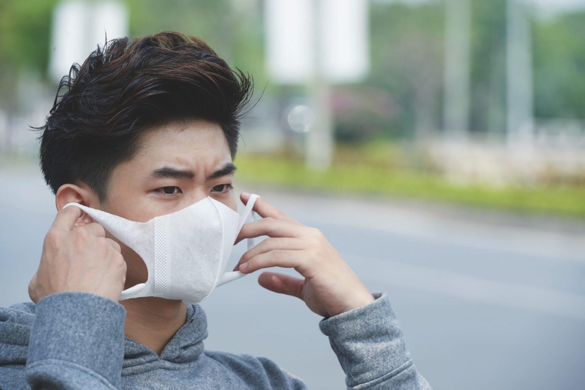 Máscara epidemia