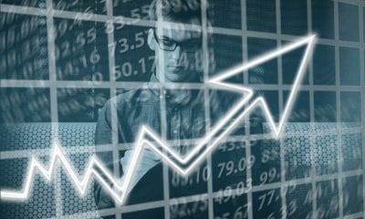Veja as 5 ações que mais subiram e caíram na semana
