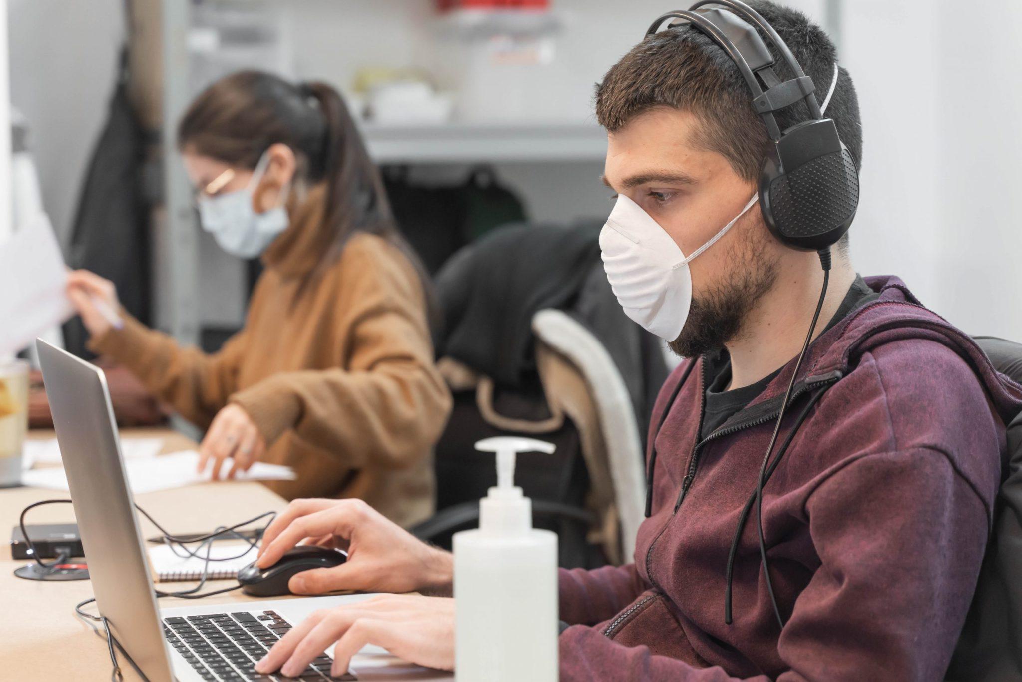 escritórios pandemia