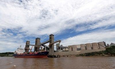 navio exportação