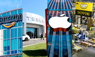 Amazon, Tesla, Apple Mercado Livre