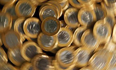 moedas de R$ 1