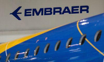 Logo da Embraer