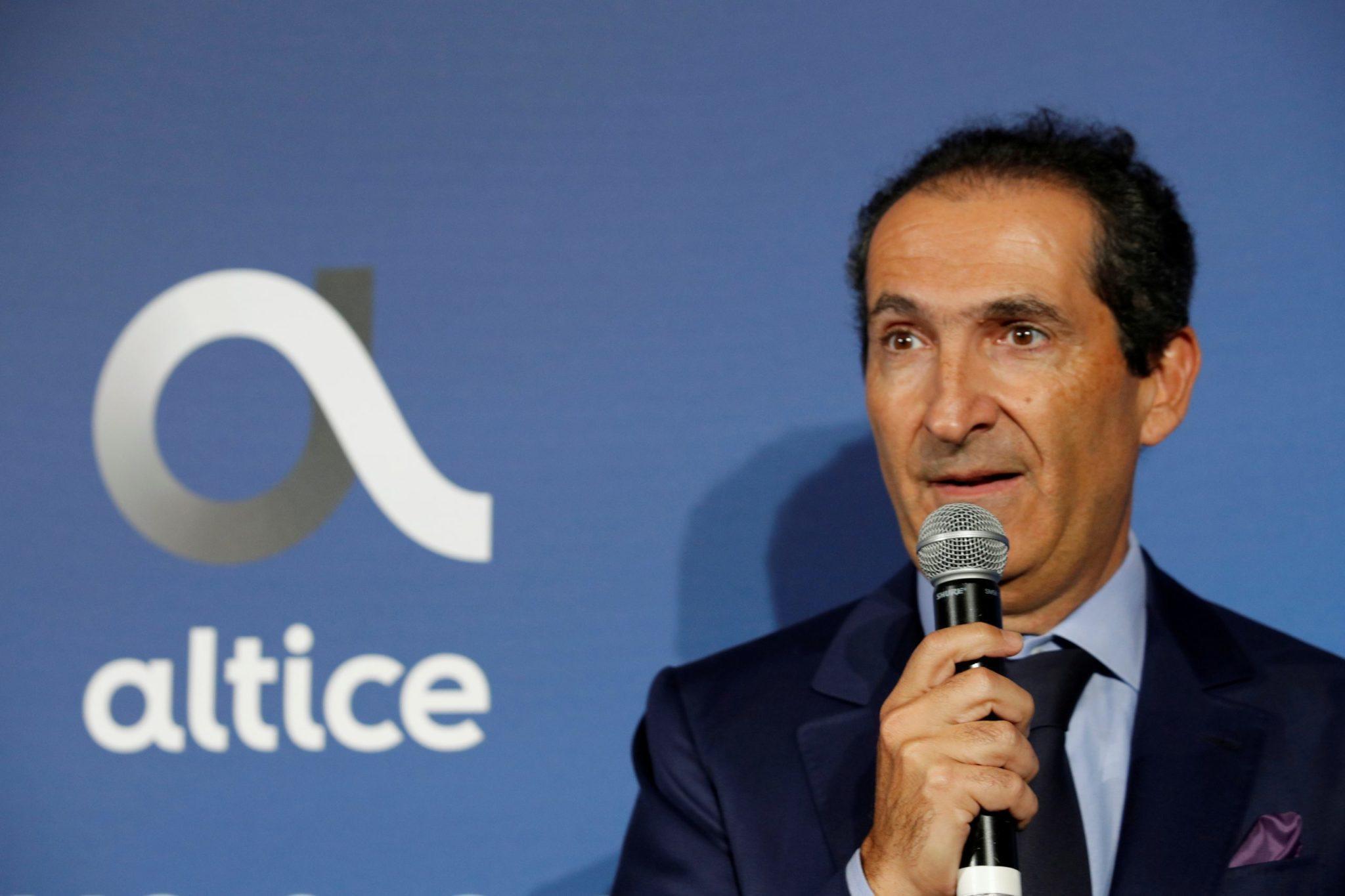 Patrick Drahi, em evento em Paris