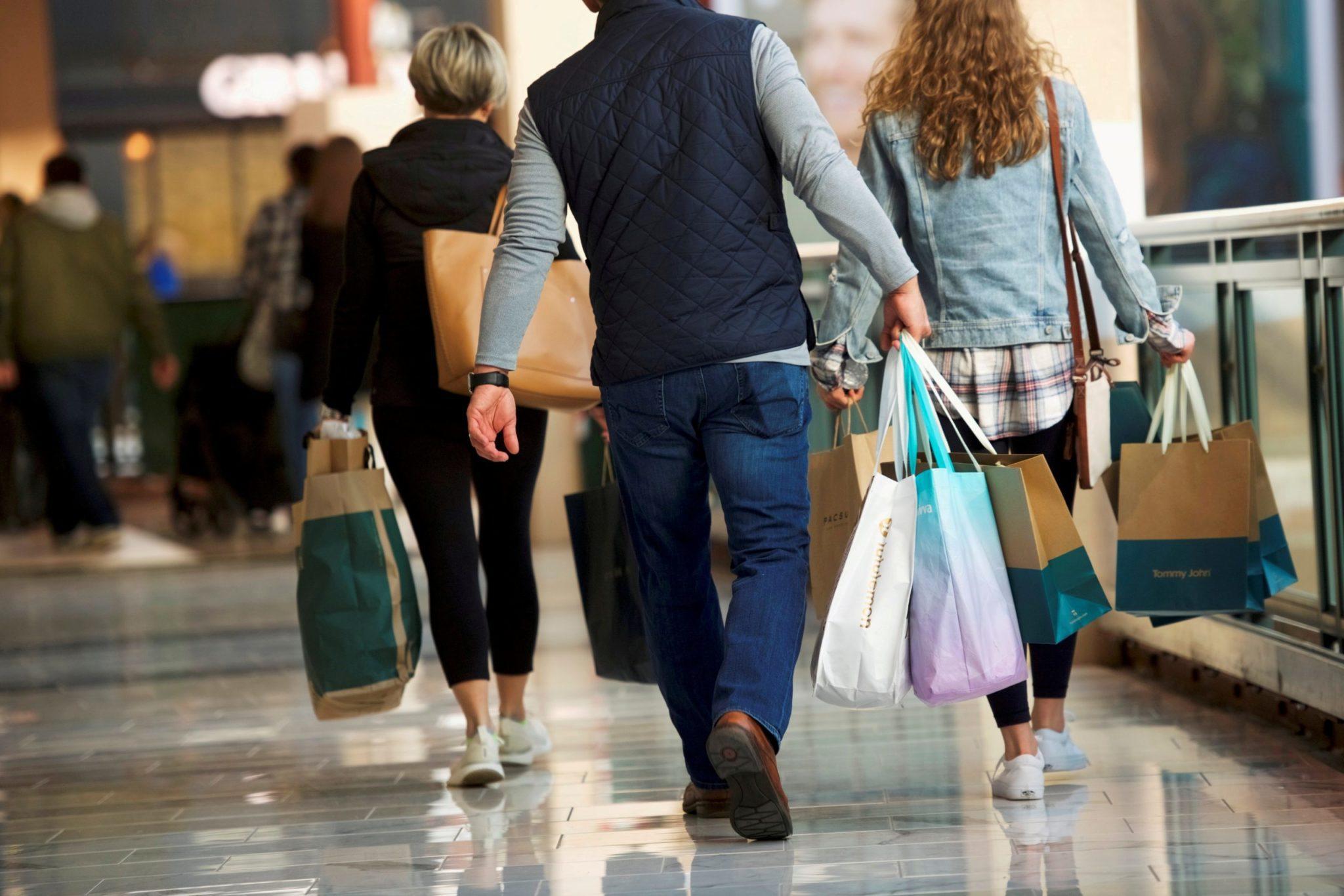 inflação: preços ao consumidor EUA - shopping King of Prussia