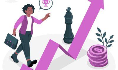 mulher empreendedora investidora