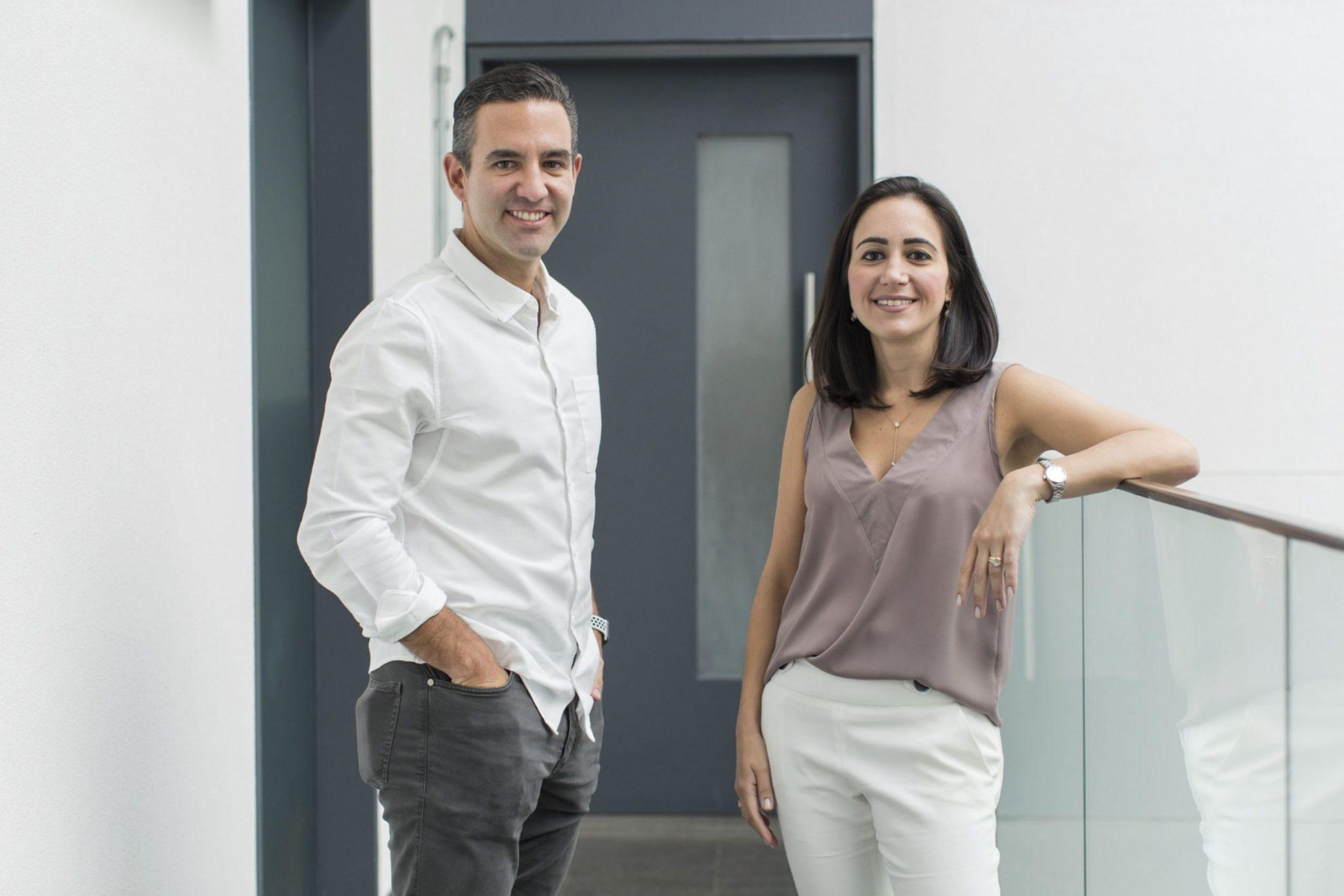 Cris Junqueira e David Velez