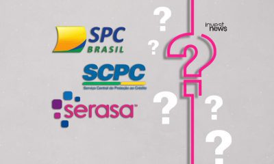 Logos do SPC, SCPC e Serasa