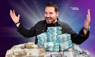 Dony De Nuccio com muito dinheiro